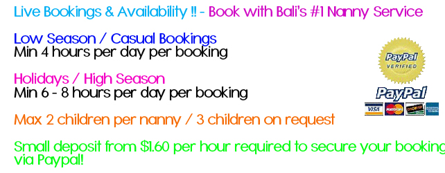 balis best babysitting bookings bali s 1 babysitting nanny